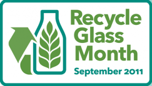 September Glass Recycle Month
