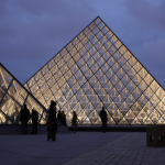 Louvre Glass Pyramids