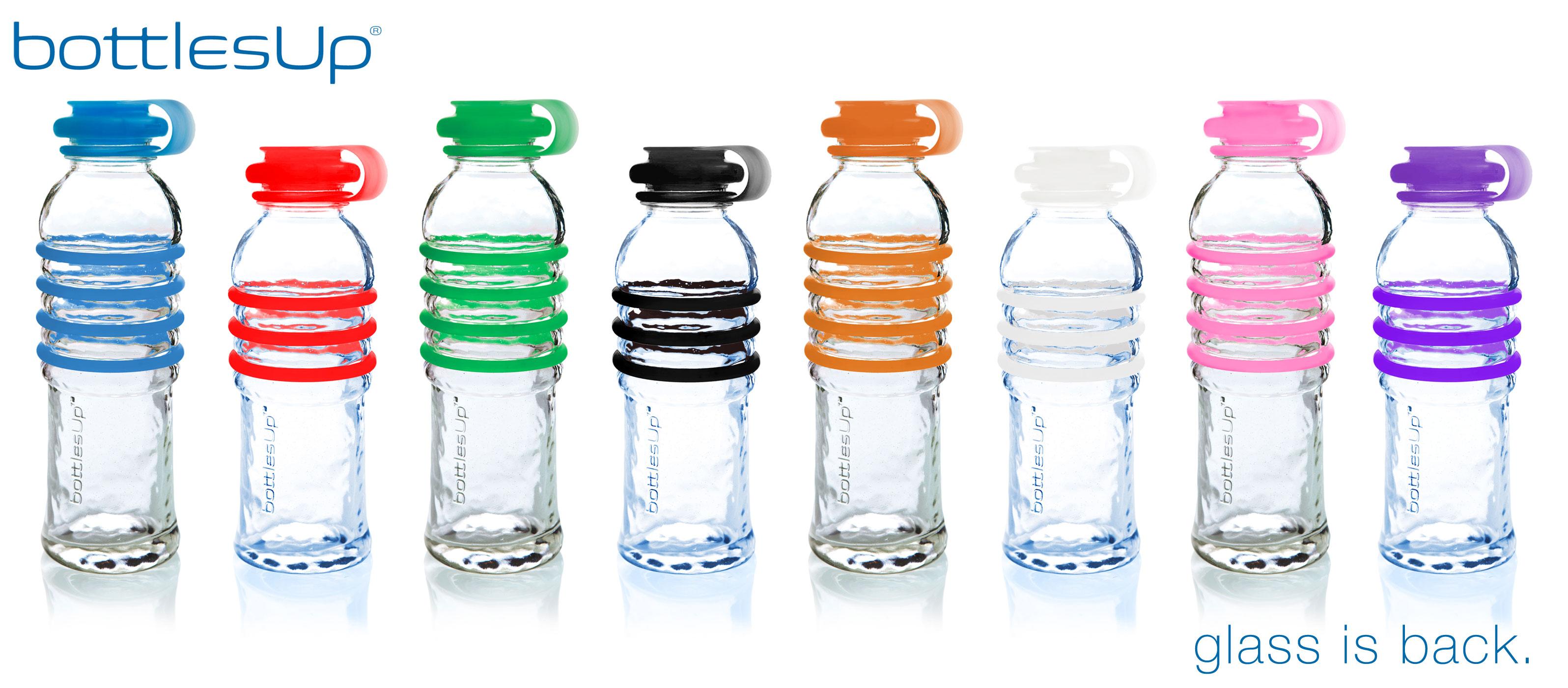 ... Specificati... Reusable Glass Water Bottle