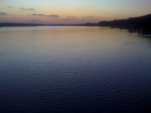 The May River, Sunset