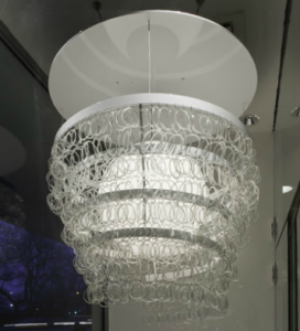Smart Glass Guggenheim Chandelier