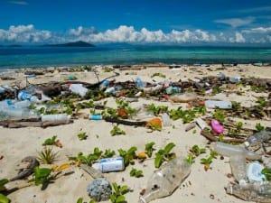 The beaches of Gatahan in Malaysia would be a far more beautiful sight without the plastics.